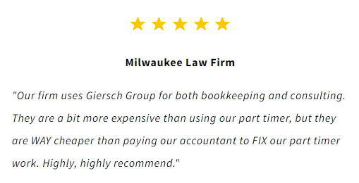 Milwaukee lawyer bookkeeping review
